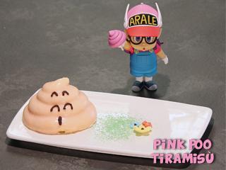 Pink Poo tiramisù