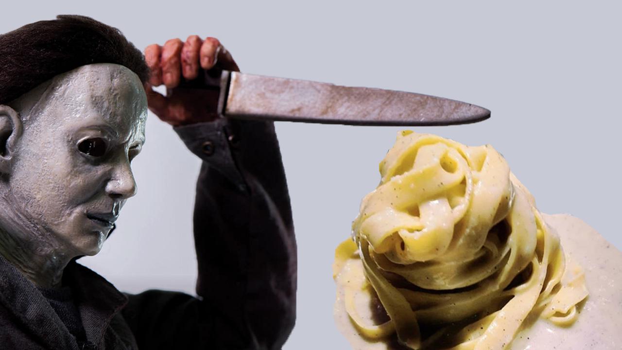 Cacio e pepe battuto al coltello di Mayers